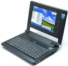 Everex CloudBook SC1200T runs Windows XP for Taiwan