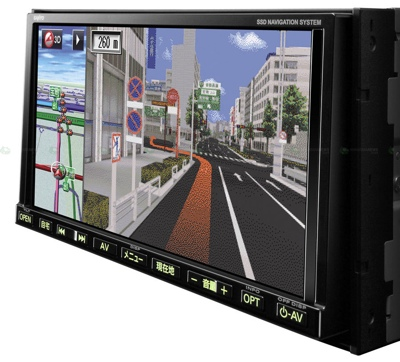 Sanyo NVA-MS1280DT and NVA-MS1180DT Multimedia Navigation Devices