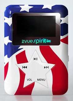 ZVUE Spirit MP3 Player