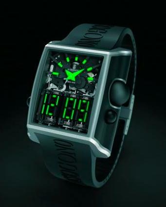 De Grisogono Meccanico DG Mechanical Digital Watch
