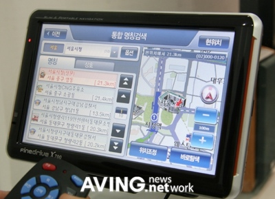 FineDigital FineDrive X700 GPS with Voice-recognition