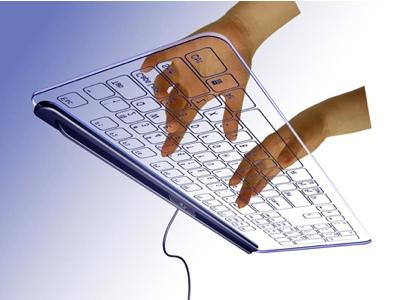 Glass Keyboard has No Keys