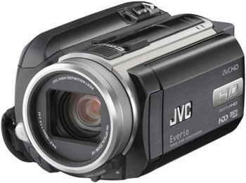 JVC Everio GD-HD40, GZ-HD30 and GZ-HD10 HD Camcorders