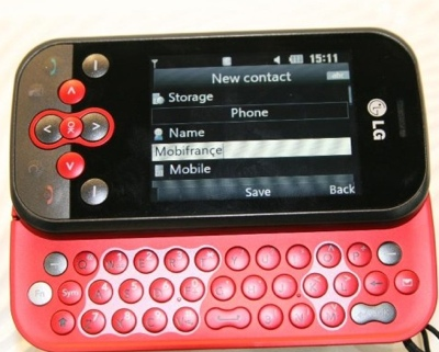 LG KS360 Smartphone