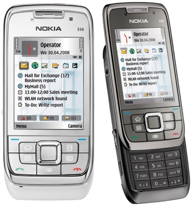 Nokia E66 Slider Smartphone