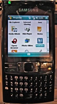 Samsung i788 BlackJack III