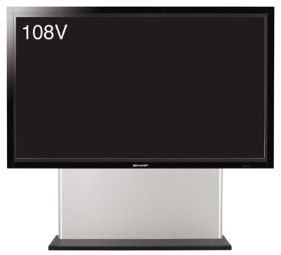 Sharp LB-1085 the Largest LCD Display