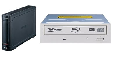 Buffalo 8x Blu-ray Burners