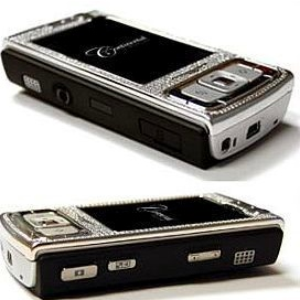 Continental Mobiles Nokia N95 Diamond Encrusted Luxury Phone
