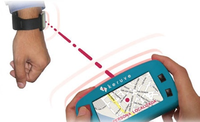 Keruve GPS locator for Alzheimer patients