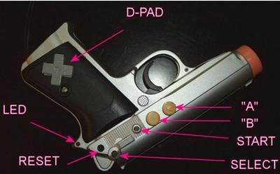NES inside a Light Gun