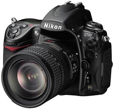 Nikon D700 Full-Frame DSLR