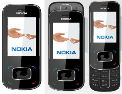 Nokia 8208 Music Slider
