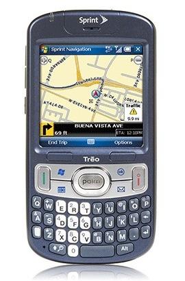 Palm Treo 800w from Sprint