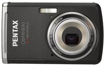 Pentax Optio E60 Compact Camera