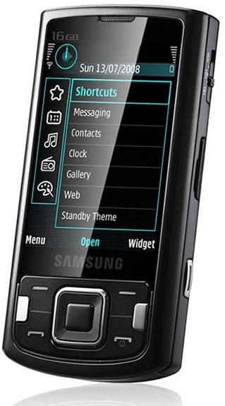 Samsung INNOV8 i8510 Slider with 8 Megapixel cam