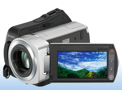 Sony DCR-SR45 Handycam Camcorder has 30GB HDD