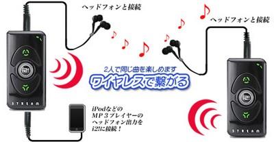 Thanko i2i Stream helps you share music