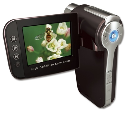 Aiptek PocketDV AHD-300 HD Camcorder