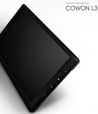 Cowon L3 Multimedia Navigator