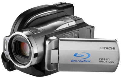 Hitachi DZ-BD10HA - Blu-ray / HDD / SDHC HD Camcorder