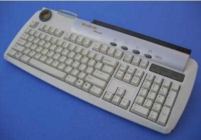 KeyScan KS811 and KS810 Keyboard/Scanner Combos