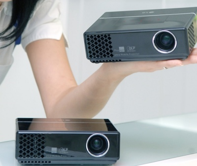 LG HS102G Palm Size LED Projector