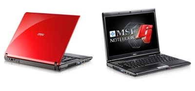 MSI GX400 Gaming Notebook