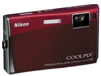 Nikon CoolPix S60 Stylish Digicam