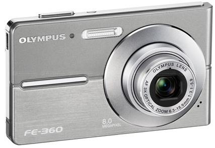 Olympus FE-360 and FE-370 Digital Cameras