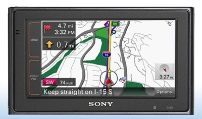 Sony Four New nav-u Personal Navigation Devices