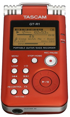 Tascam GT-R1 Recorder is also a Guitar Trainer