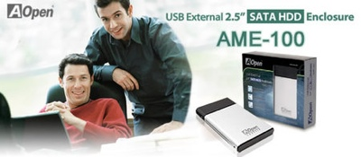 AOpen AME-100 SATA HDD enclosure