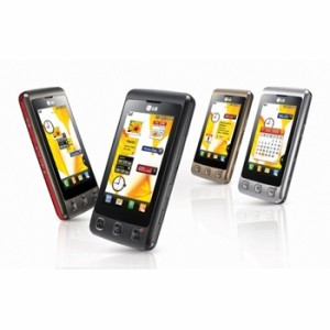 LG KP500 Affordable Touchscreen Phone