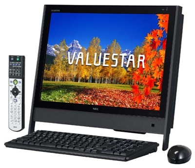 NEC ValueStar VN750 and VN770 all-in-one