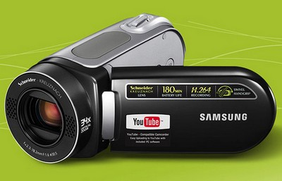 Samsung VM-MX25E YouTube-Friendly Camcorder