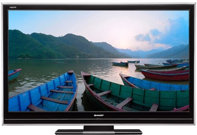 Sharp AQUOS D65U and D85U LCD HDTVs