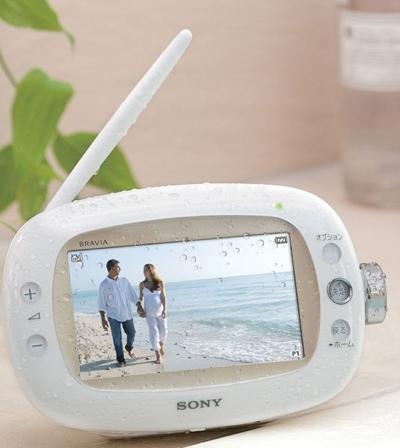 Sony BRAVIA XDV-W600 Waterproof Portable 1Seg TV