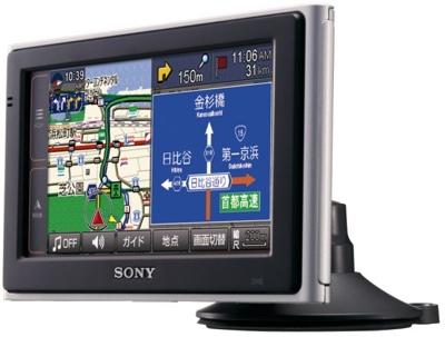 Sony Nav-U NV-U3V and NV-U3 GPS Devices