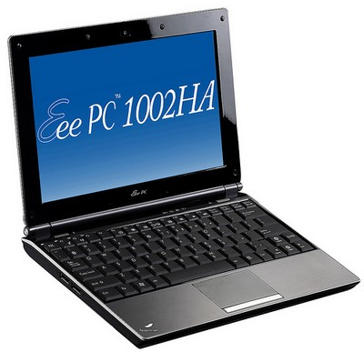 Asus Eee PC 1002HA with S101 Styling
