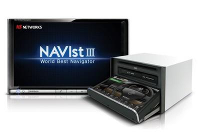HS Networks NAVist III Car Navigation System / Digital TV