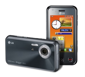 LG KC910 Renoir 8MPix phone