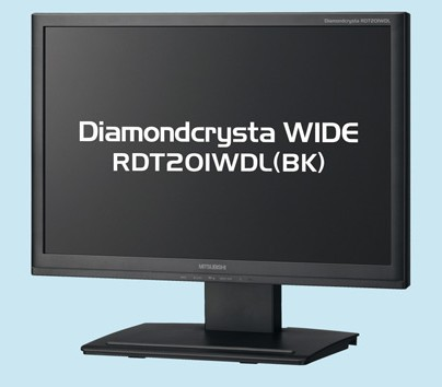 Mitsubishi Diamondcrysta RDT201WDL DisplayLink LCD Monitor