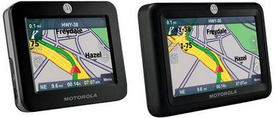 Motorola MOTONAV TN20 and TN30 GPS Systems