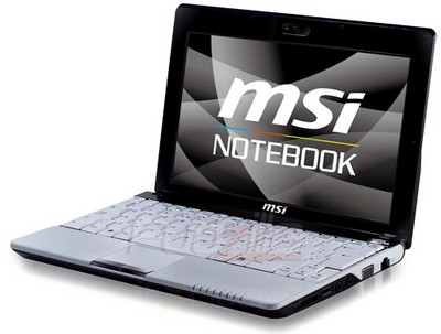 MSI Wind U120 3.5G Business Netbook