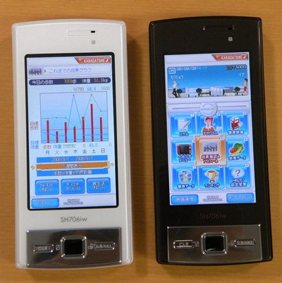 NTTDoCoMO Sharp SH706i Slider Phone