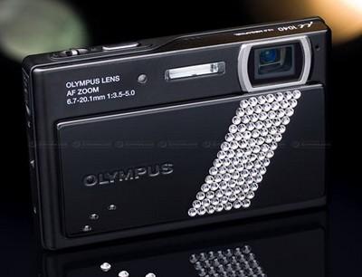 Olympus Stylus 1040 Crystal Swarovski Camera