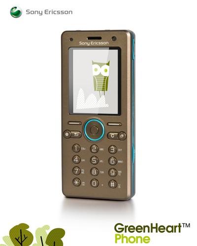 Sony Ericsson GreenHeart eco phone concept