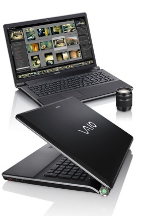 Sony VAIO AW Series Notebook for UK