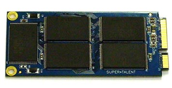 Super Talent mini PCIe SSD Expansion for Eee PC